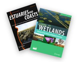 The Journals Estuaries & Coasts and Wetlands